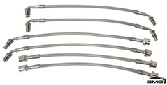Stainless Steel Brake Lines: 991 Turbo/GT3 + 981 GT4