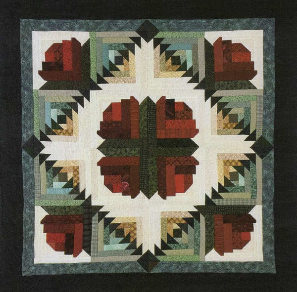 Pattern : Rose Log Cabin
