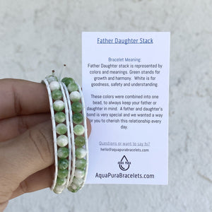 father daughter bracelets