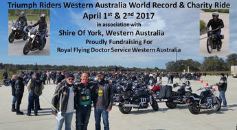 Triumph Motorcycle World Record Festival 2017