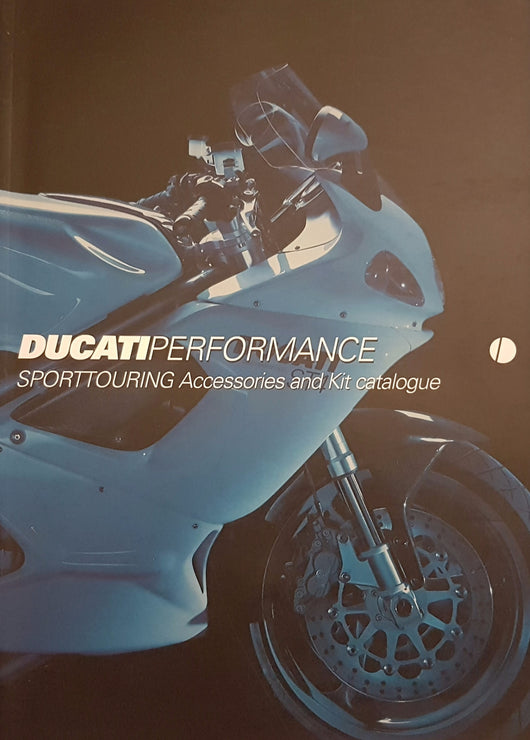 Ducati Sport Touring Accessories and Kit Original Catalogue Brochure