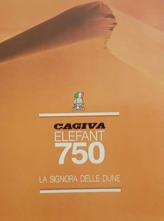 Cagiva Elefant 750 Original Brochure