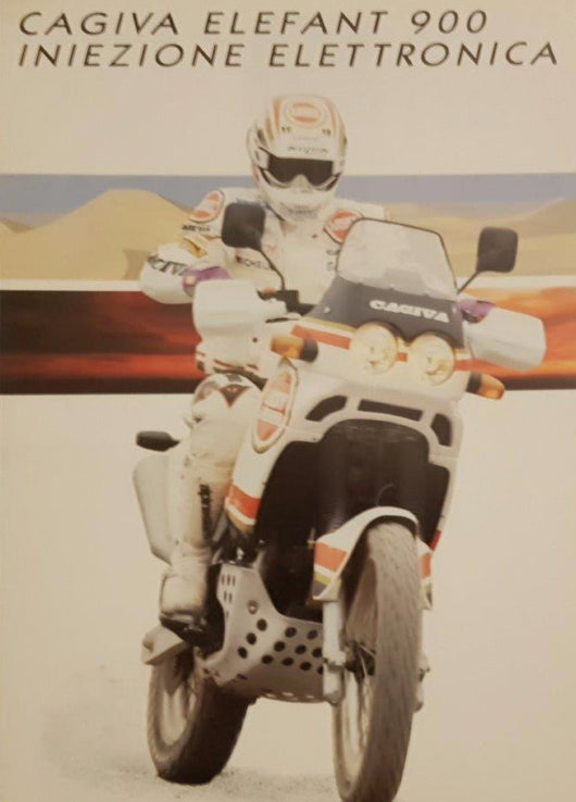 Cagiva Elefant 900 Original Brochure