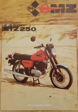 MZ ETZ 250 Retro Brochure