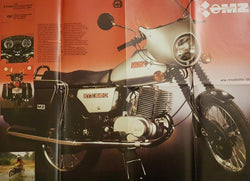 MZ ETZ 250 Retro Motor Brochure Large