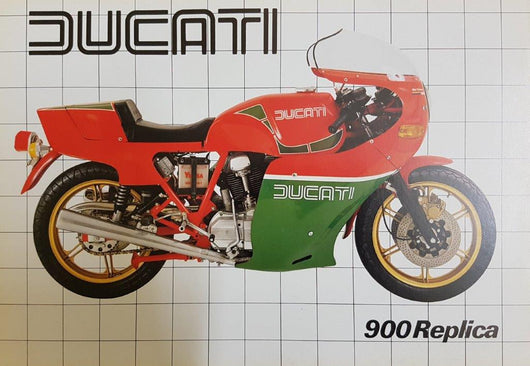 Ducati 900 Replica Original Brochure