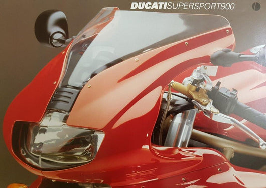 Ducati 900 SS Super Sports Original Brochure