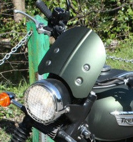 Triumph Scrambler Fly Screen Kit Matt Khaki Green A9708027-HS