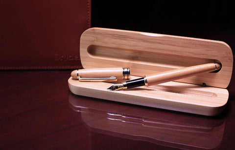 HANDCRAFTED BAMBOO FOUNTAIN PEN - Dryden Designs