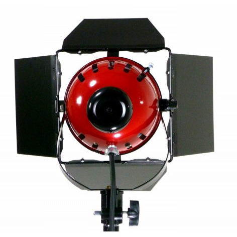 800W Red Head Light with Dimmer - Broadcast Lighting