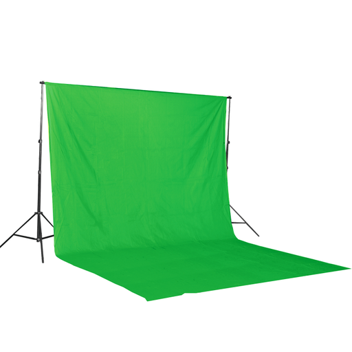 Green Muslin & Backdrop Support Stand Kit
