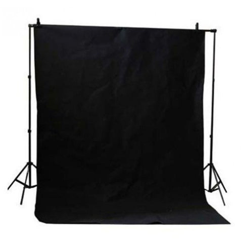 Black Muslin & Backdrop Support Stand Kit - Broadcast Lighting