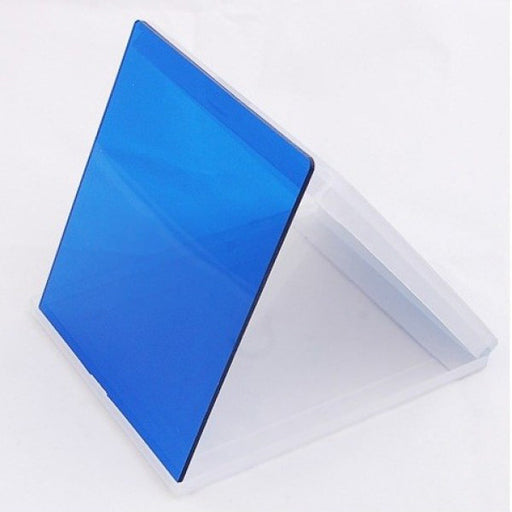 Blue Colour Square filter - Broadcast Lighting
