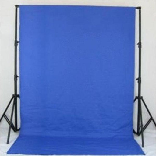Blue Muslin & Backdrop Support Stand Kit