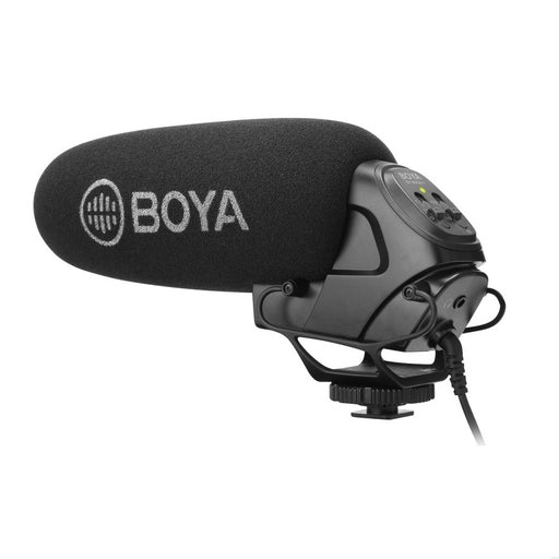 Boya BY-BM3031 On-Camera Shotgun Microphone - Broadcast Lighting