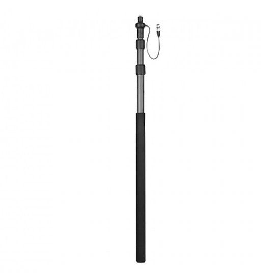 Boya BY-PB25 Carbon Fiber Boompole with Internal XLR Cable - Broadcast Lighting