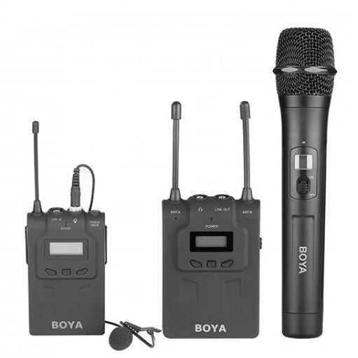 Boya BY-WHM8 UHF Wireless Handheld Transmitter Microphone - Broadcast Lighting