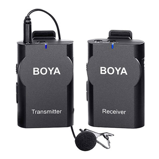 Boya BY-WM4 Universal Lavalier Wireless Microphone - Broadcast Lighting