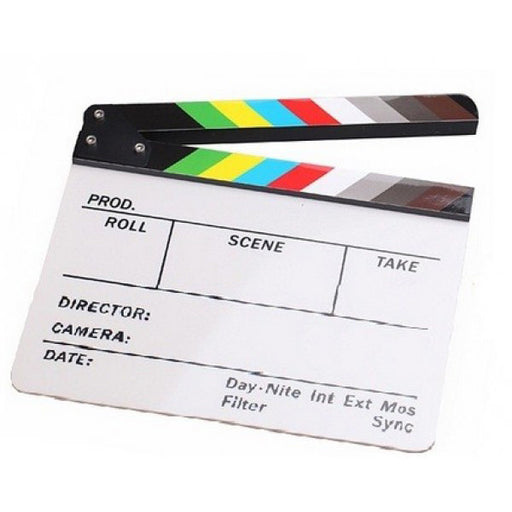 Clapper Board - Broadcast Lighting