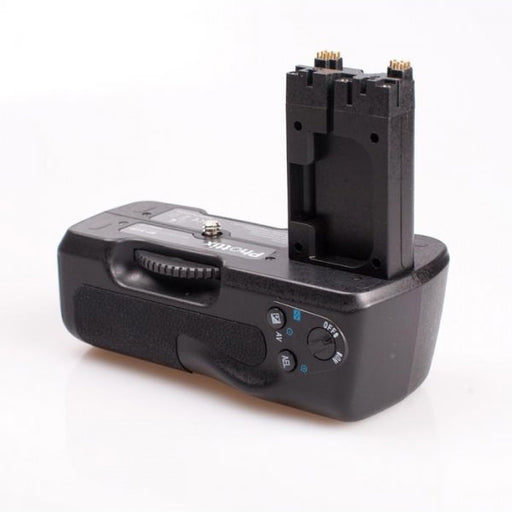 Commlite Battery Grip for Sony Alpha A200 A300 A350 VG-B30AM - Broadcast Lighting