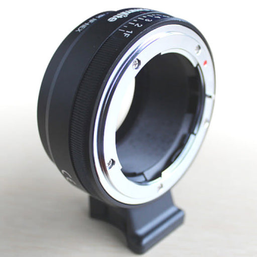 Commlite NF to NEX Camera Lens mount Adaptor - Broadcast Lighting