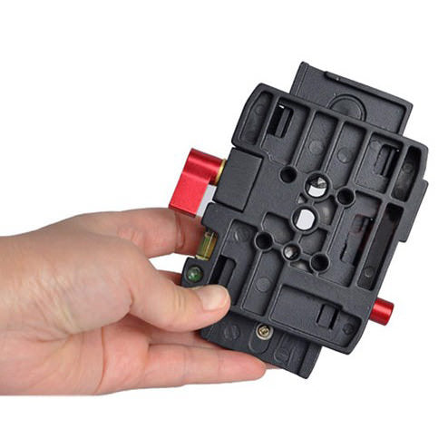 CS-QP01 Quick Release Plate for Tripod Head DSLR Video Camera - Broadcast Lighting