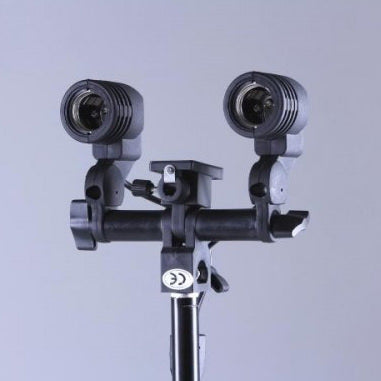 Dual Head Globe Holder - Broadcast Lighting
