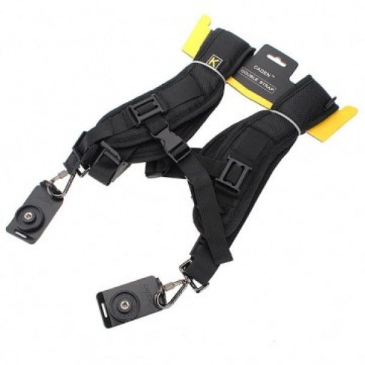 Double Shoulder Camera Strap - Broadcast Lighting