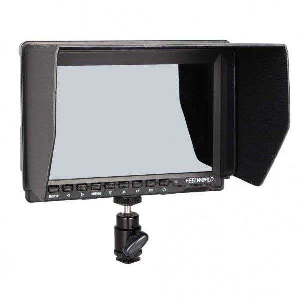 "Feelworld FW-759 Field Monitor 7"" HD without Battery - Broadcast Lighting"