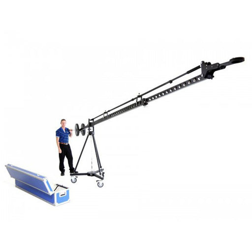 Full Heavy Duty 6M Jib kit with pan tilt - Broadcast Lighting