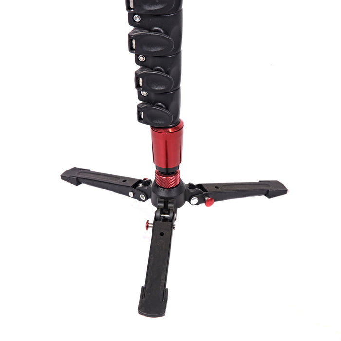 GearCam 0506CB Carbon Fiber Monopod with Fluid Head
