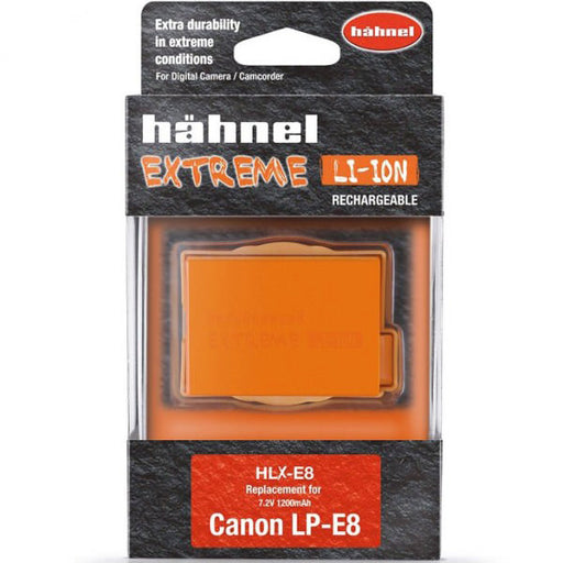 Hahnel HLX-E8N Extreme High Capacity Battery Pack for Canon LP-E8 - Broadcast Lighting