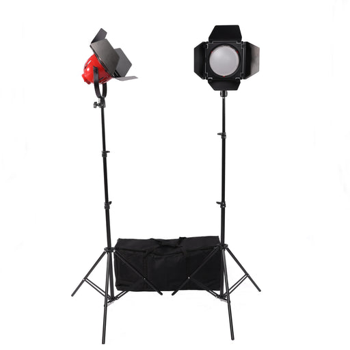 LED Red Head Lighting Kit B with Dimmers - Broadcast Lighting