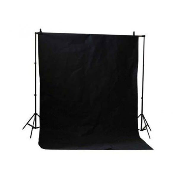 LED Enthusiast Lighting & Backdrop kit (Black) - Broadcast Lighting