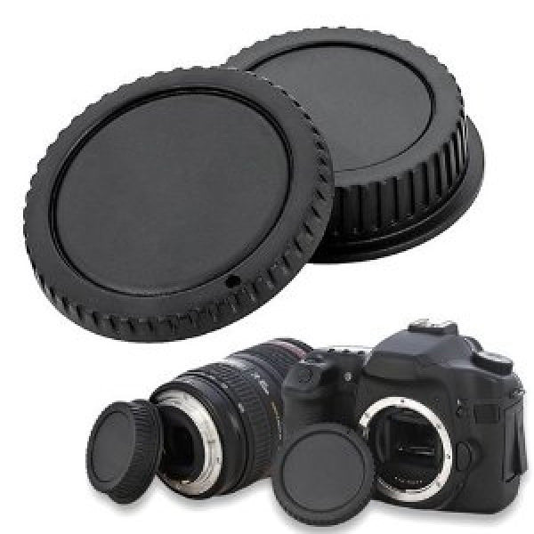 Lens back and front cap - Nikon - Broadcast Lighting