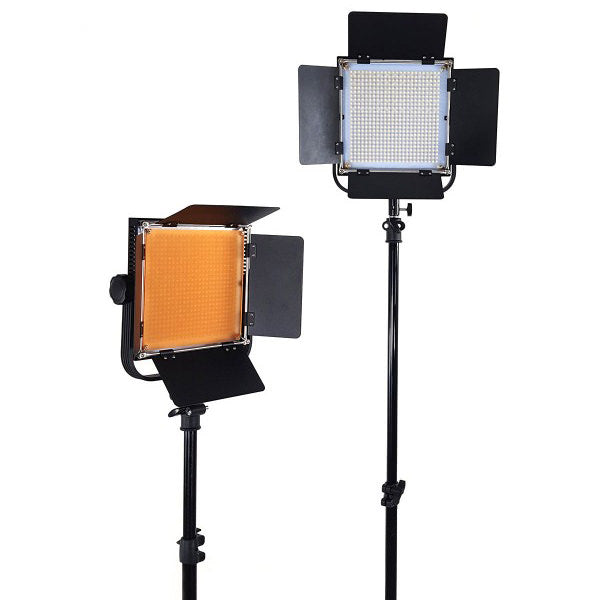 Lippmann LED-600A Lighting Kit of 2 - Broadcast Lighting