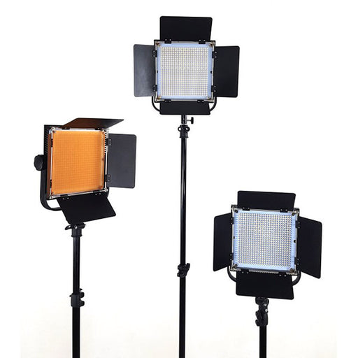 Lippmann LED-600A Lighting Kit of 3