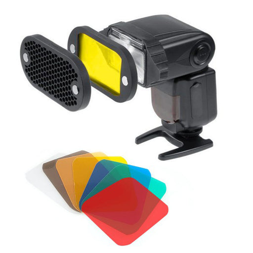 Magnetic Gel and Grid Kit for Speedlights - Broadcast Lighting