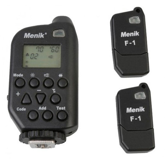 Menik WT-4i High speed Flash Controller with 2x USB Receivers (Nikon) - Broadcast Lighting