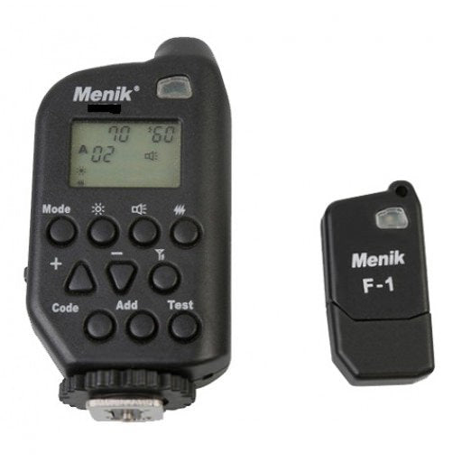 Menik WT-4i Wireless Flash Trigger with Receiver (Canon) - Broadcast Lighting