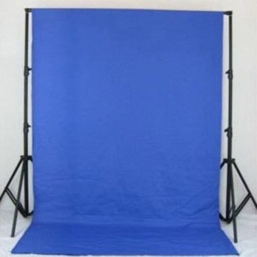 Muslin Blue Backdrop Material 3x6m - Broadcast Lighting