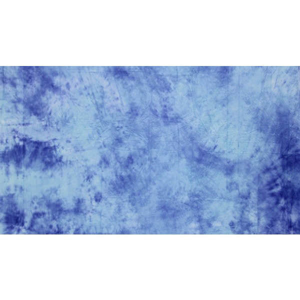 Muslin Multi Blue Backdrop Material 3x6m - Broadcast Lighting