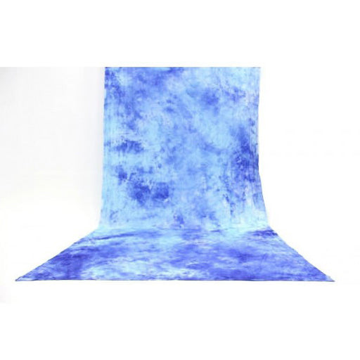 Muslin Multi Blue Backdrop Material 3x6m
