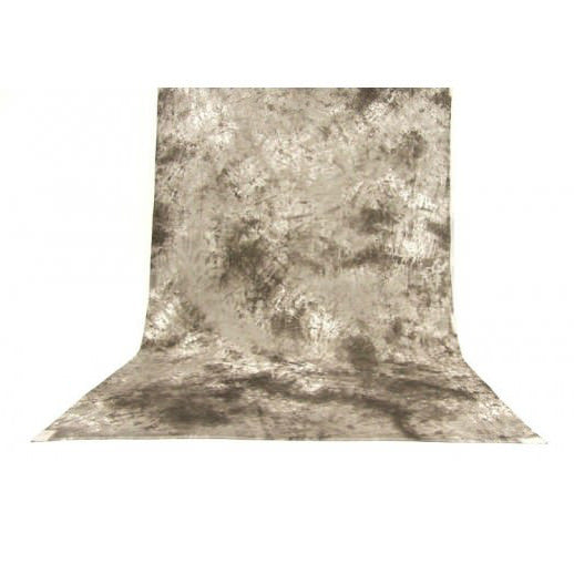 Muslin Multi Grey Backdrop Material 3x6m - Broadcast Lighting