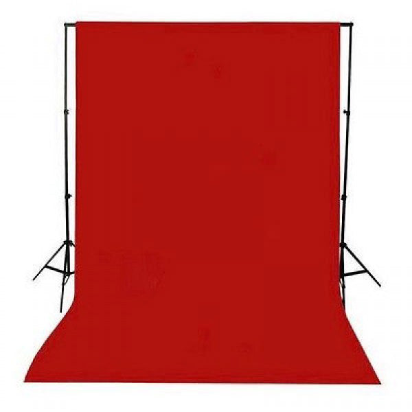 Muslin Red Backdrop Material 3x6m - Broadcast Lighting