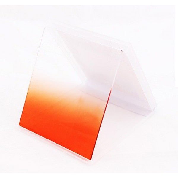 Orange Graduated Colour Square filter