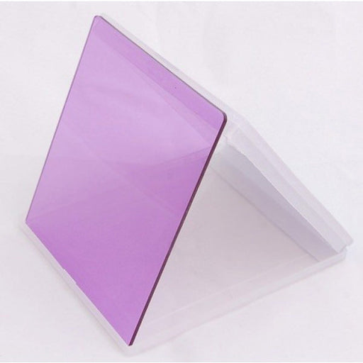Square Filter - Purple Colour - Broadcast Lighting