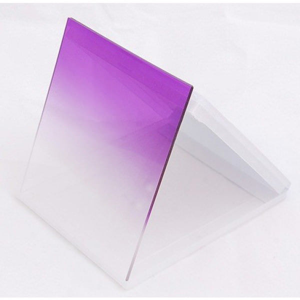 Purple Graduated Colour Square filter