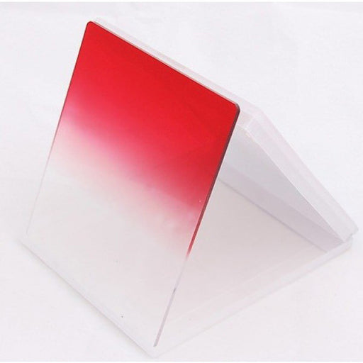 Square Filter - Red Graduated Colour - Broadcast Lighting