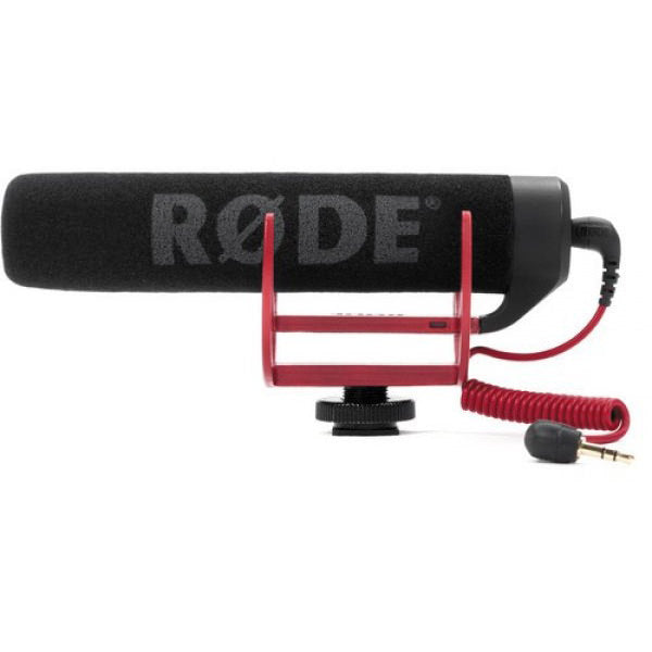 Rode VIDEOMIC GO Lightweight On-Camera Microphone - Broadcast Lighting